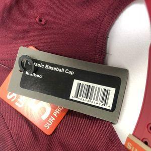 Simms Accessories - Simms Malbec Burgundy Brown Snapback Hat